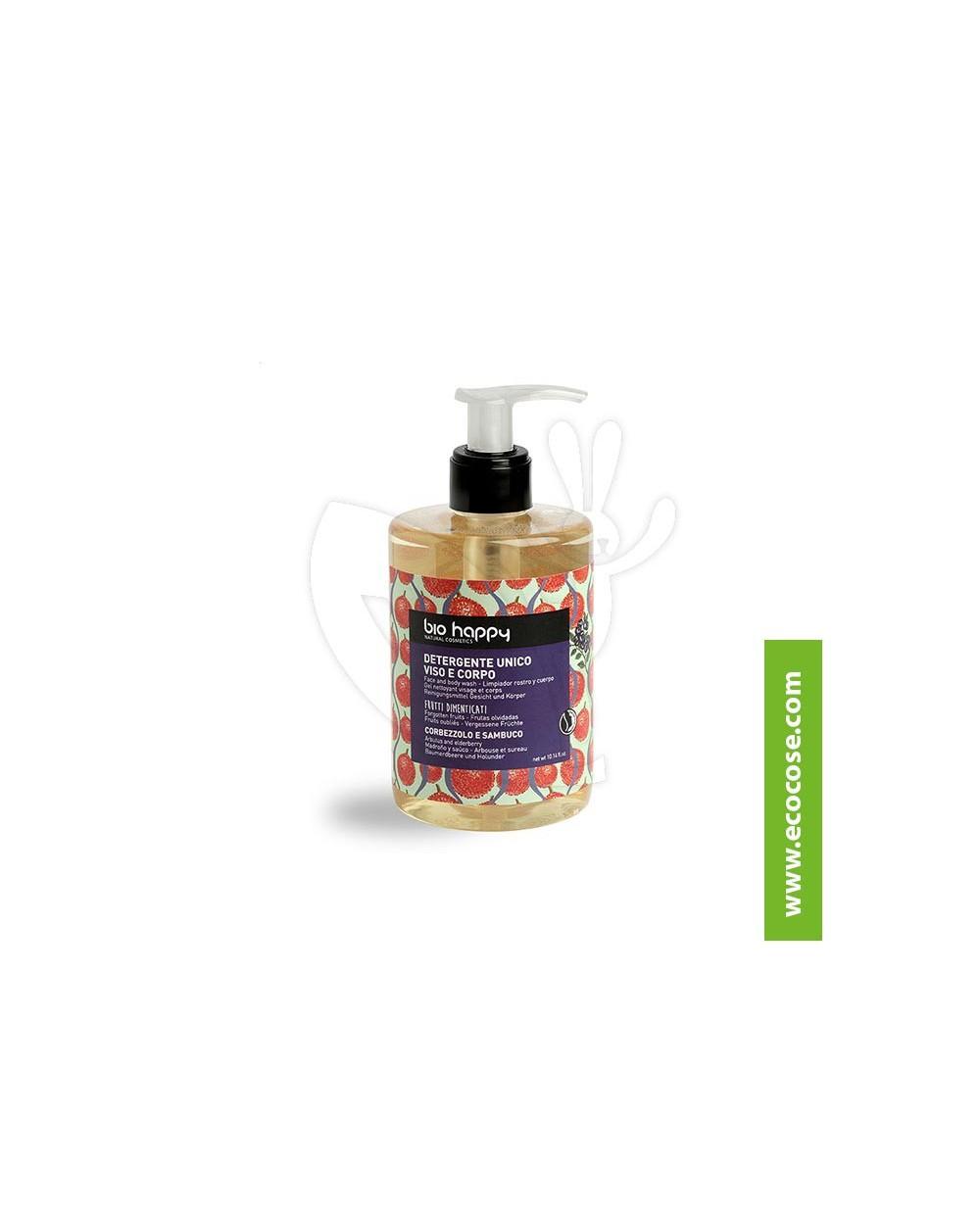 Bio Happy - Detergente unico viso corpo Corbezzolo e Sambuco