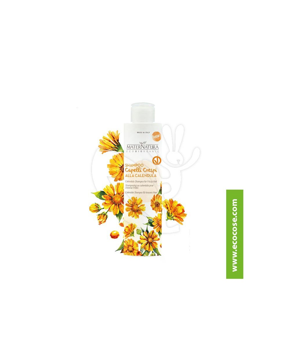 Maternatura - Shampoo Capelli Crespi alla Calendula
