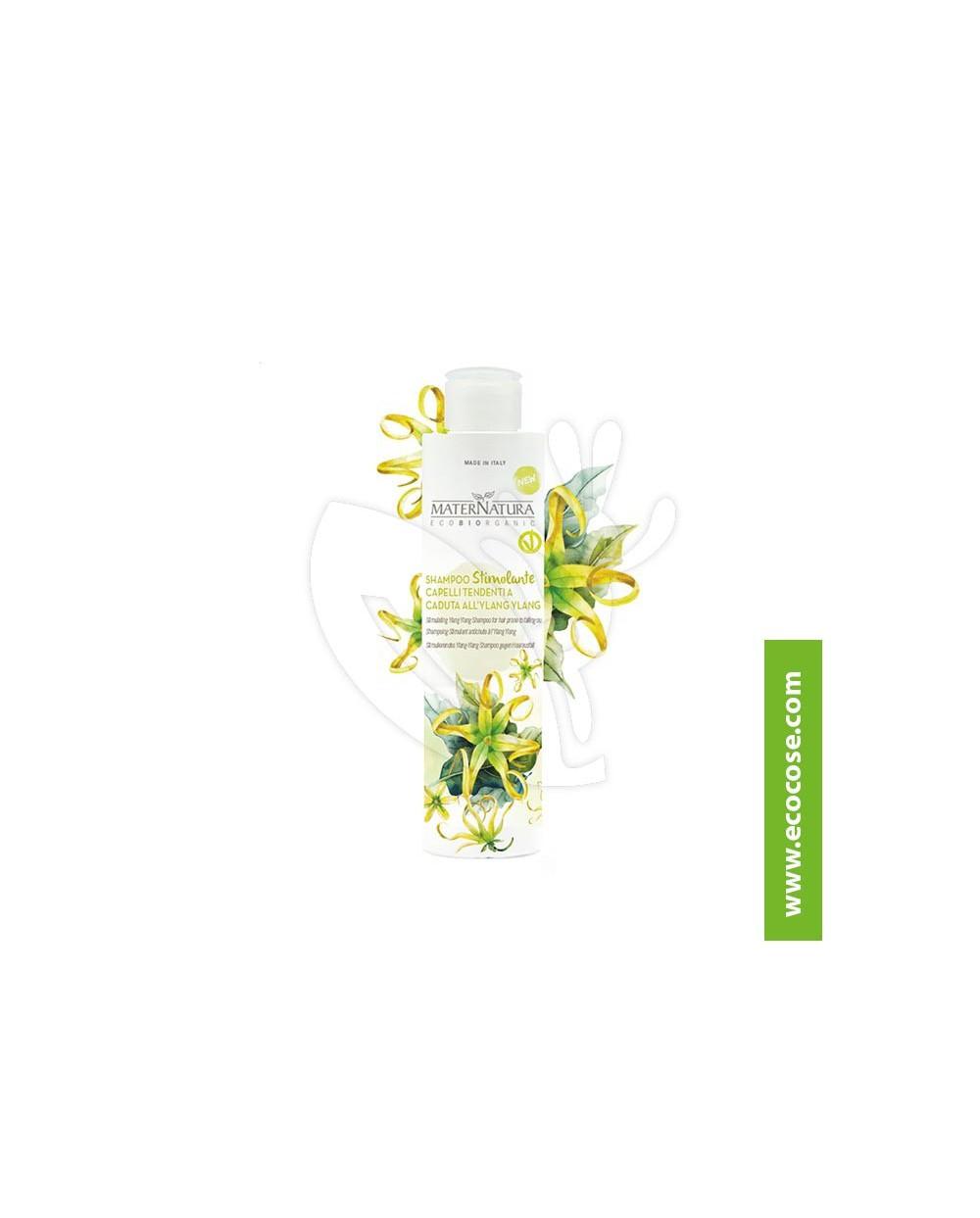 Maternatura - Shampoo Stimolante Capelli Tendenti alla Caduta all'Ylang Ylang
