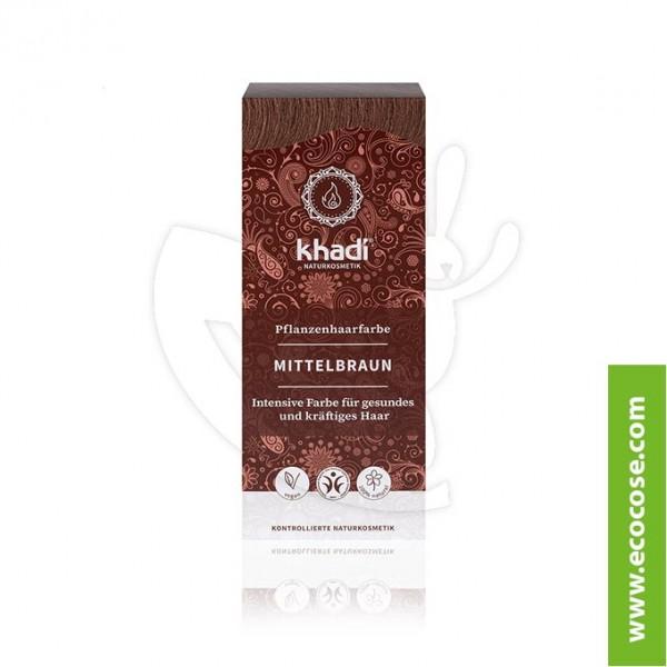 Khadi - Tinta vegetale Castano medio (Hennè Castano medio) a427bfc433c6