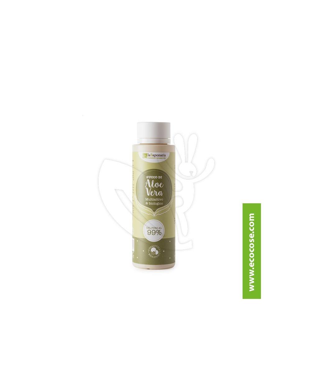 La Saponaria - Succo di Aloe - Gel di Aloe Vera Puro 99%