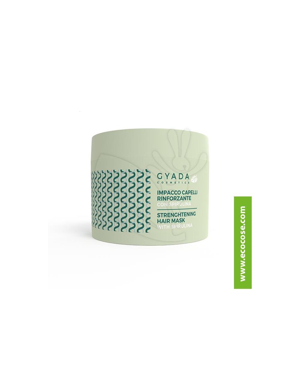 Gyada Cosmetics - Impacco capelli rinforzante con spirulina