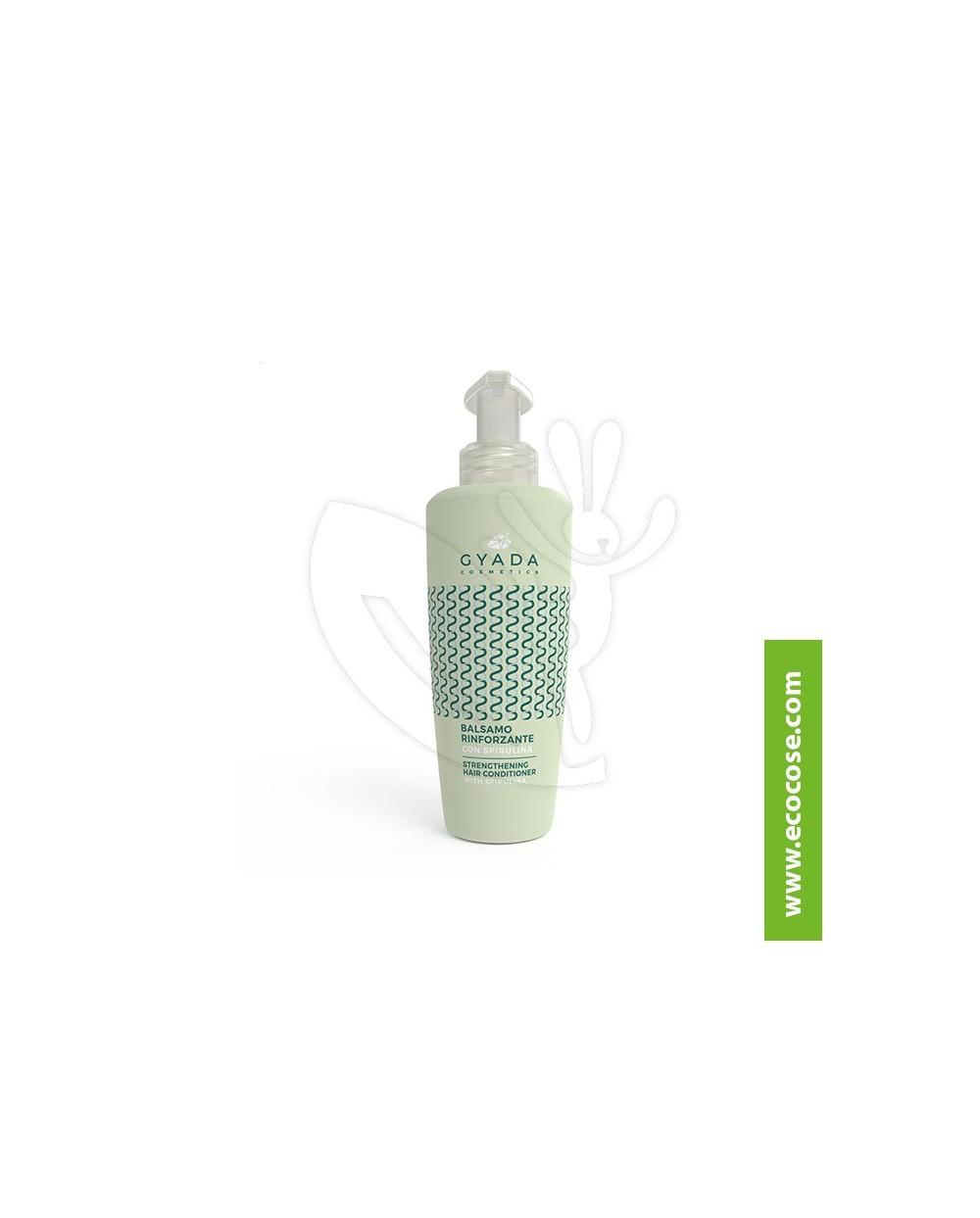 Gyada Cosmetics - Balsamo capelli rinforzante con spirulina
