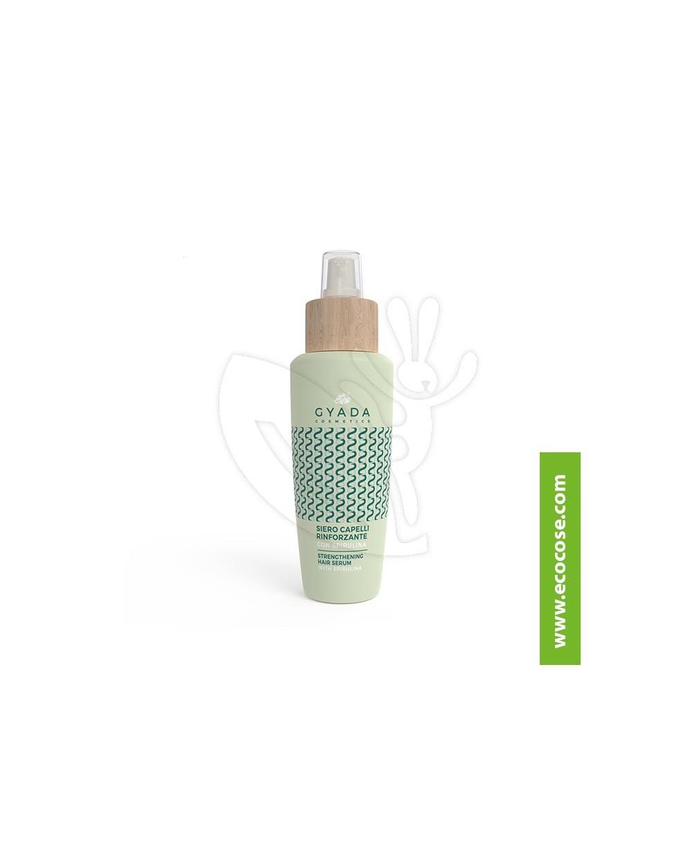 Gyada Cosmetics - Siero capelli rinforzante con spirulina