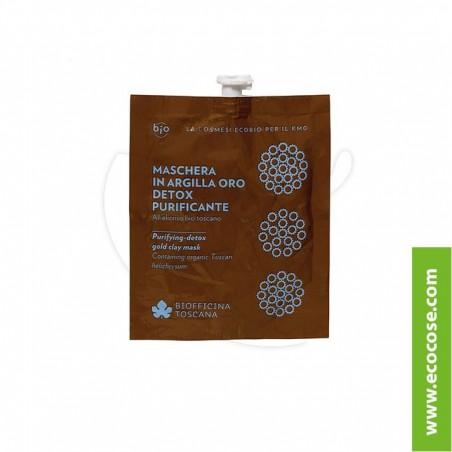Biofficina Toscana - Maschera in argilla oro detox purificante