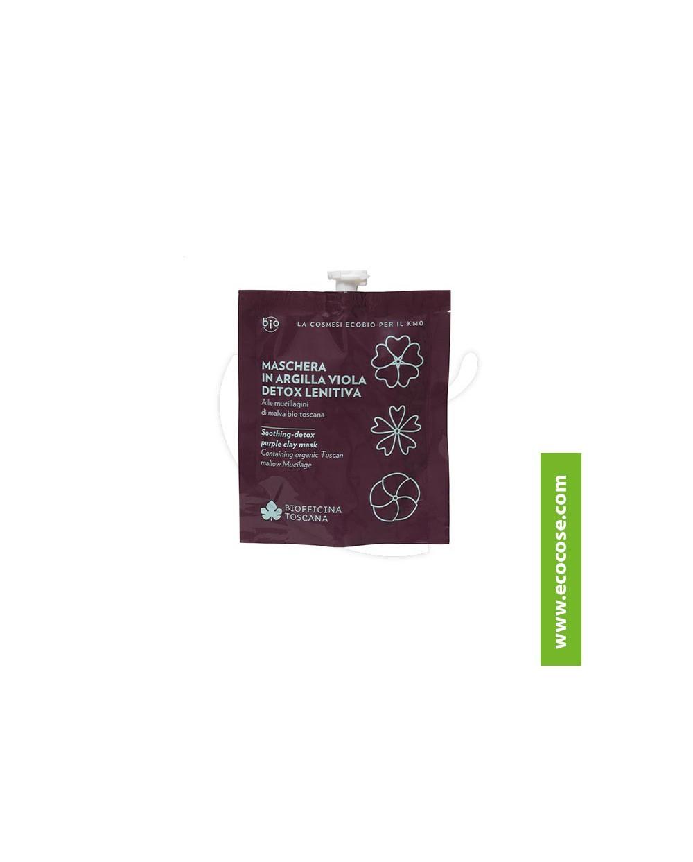 Biofficina Toscana - Maschera in argilla viola detox lenitiva