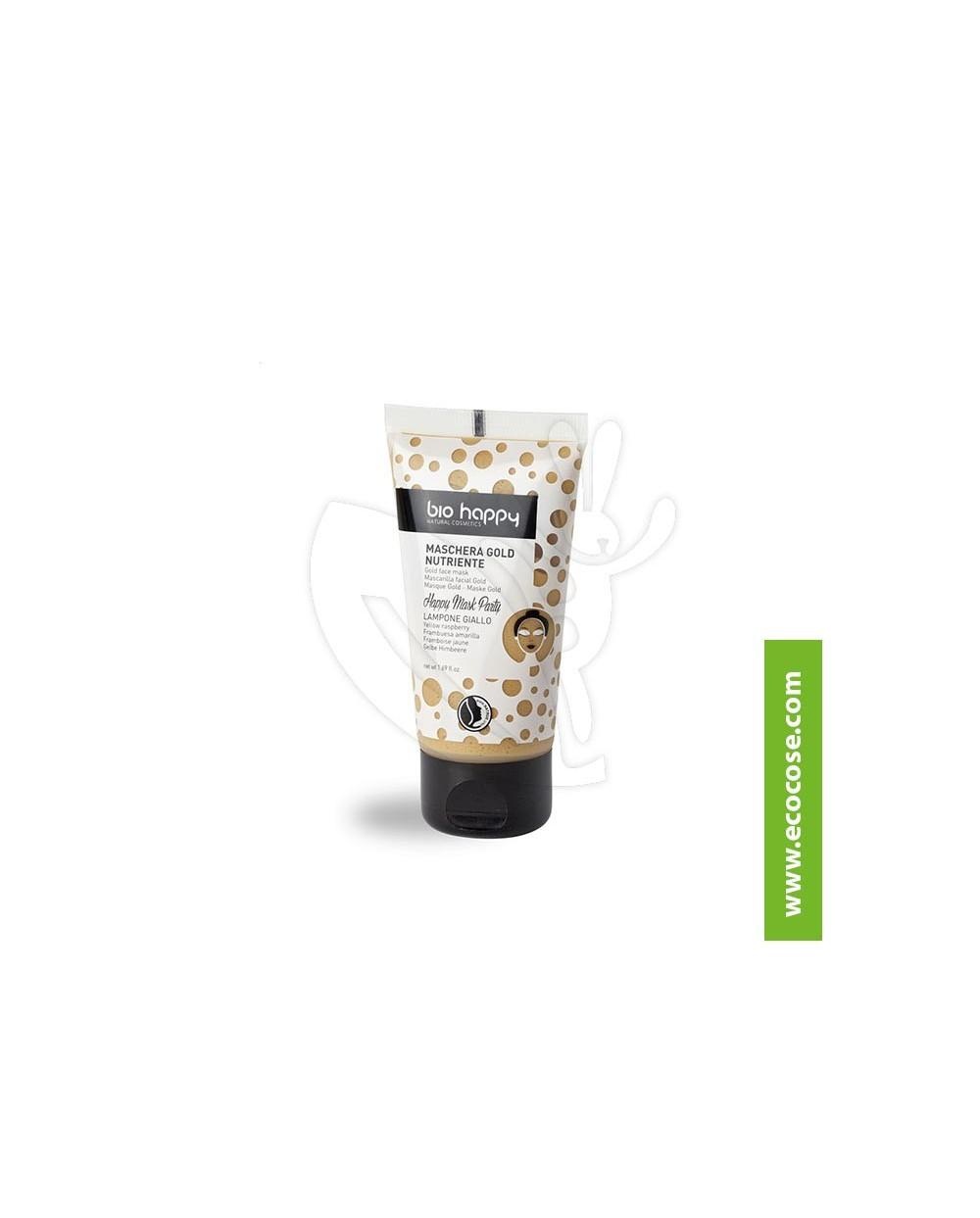 Bio Happy - Maschera Gold Nutriente - Lampone Giallo