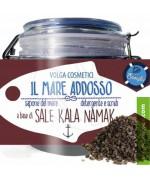 Volga cosmetici - Il Mare Addosso Detergente Scrub - Sale Kala Namak