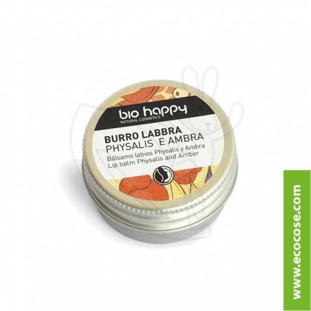 Bio Happy - Burro labbra Physalis e Ambra