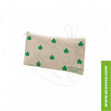 Biofficina Toscana - Trousse con logo verde