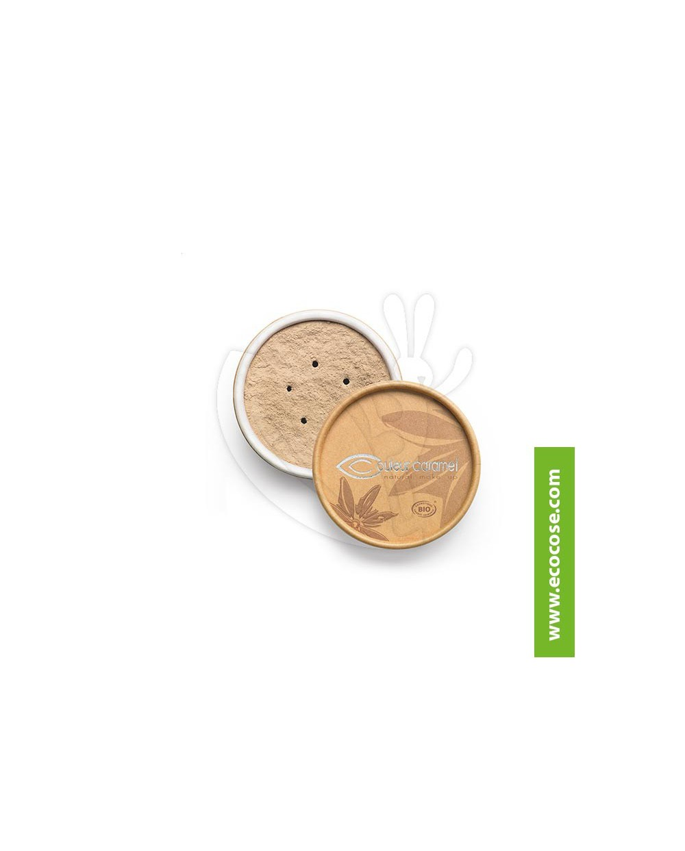Couleur Caramel - Fondotinta minerale 01 Beige clair