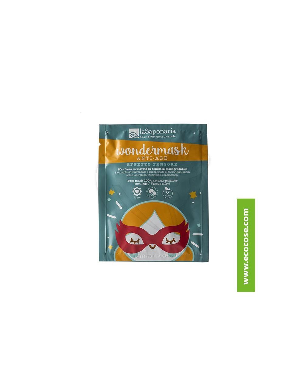 La Saponaria - Wondermask - Maschera in tessuto (biodegradabile) anti-age