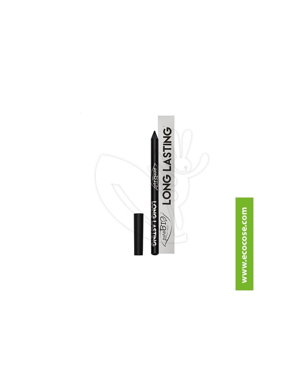 PuroBIO Cosmetics - Matita Biologica Occhi LONG LASTING Nero Intenso