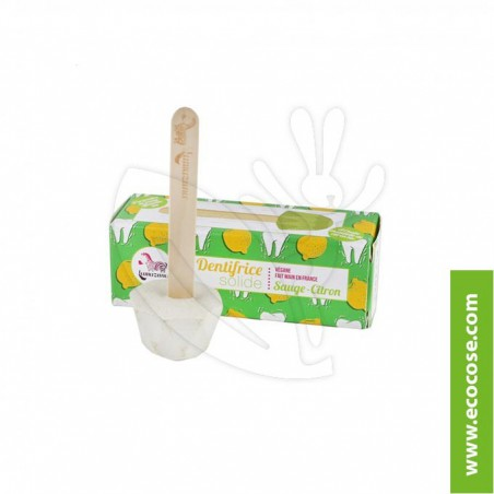 Lamazuna - Dentifricio solido alla salvia e limone
