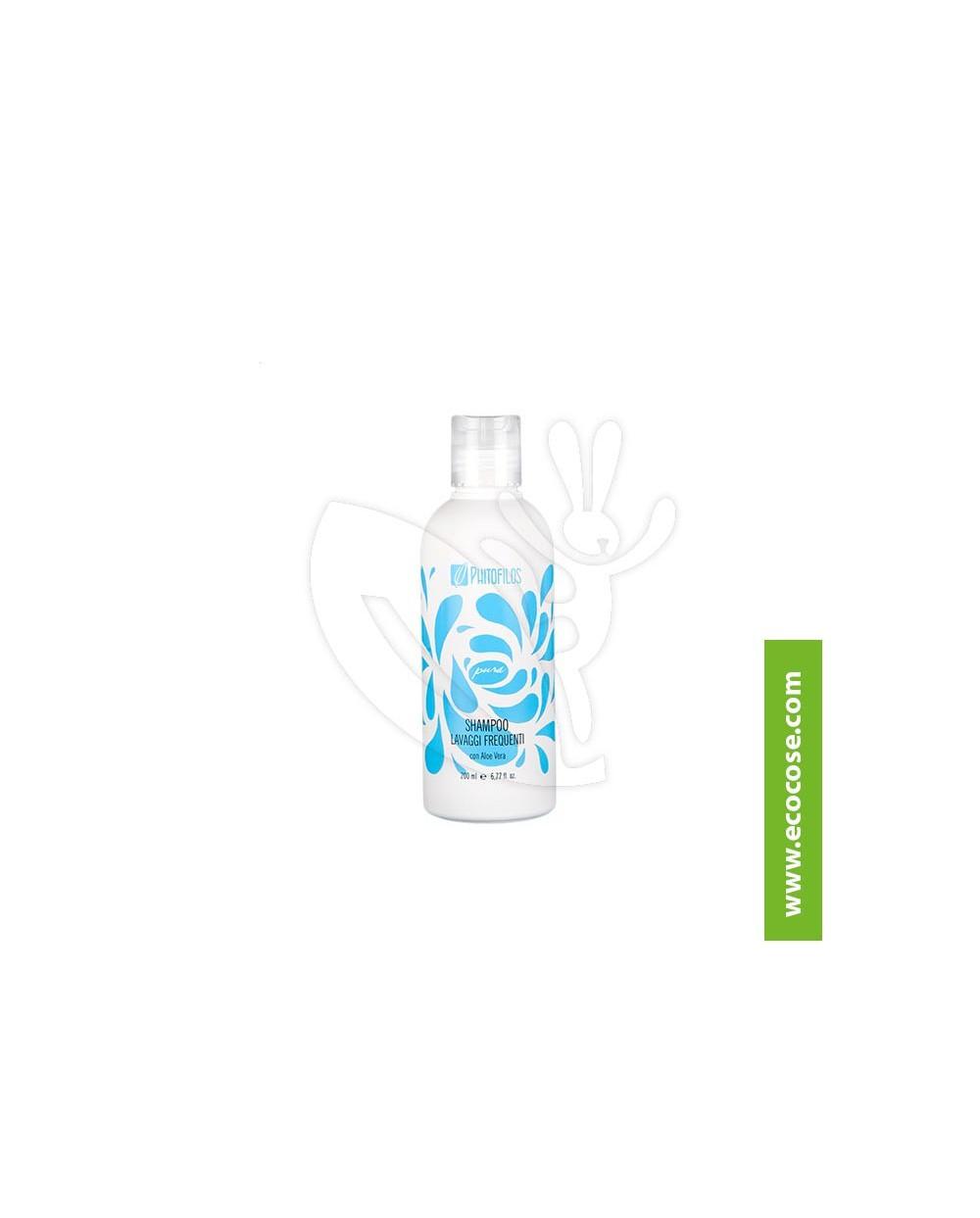 Phitofilos - Shampoo lavaggi frequenti con Aloe Vera