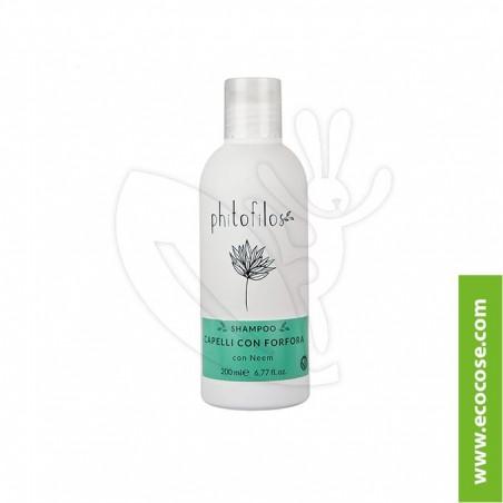 Phitofilos - Shampoo capelli con forfora Neem