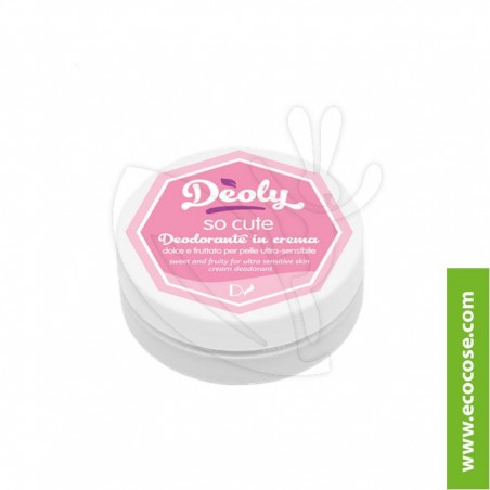 Deoly - Deodorante in crema So cute