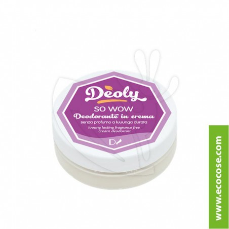 Deoly - Deodorante in crema So wow