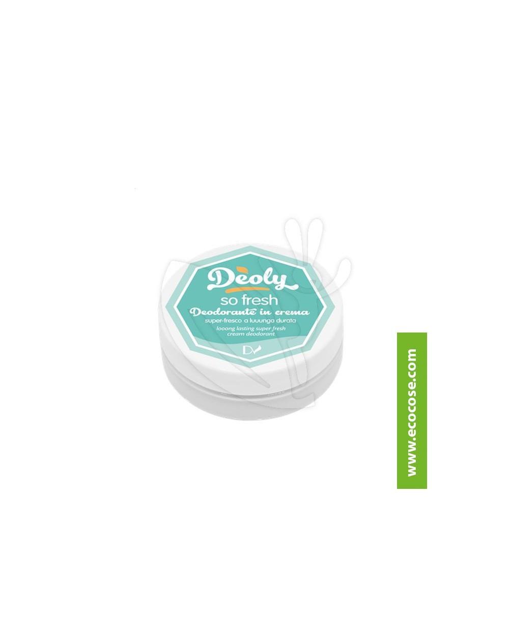 Deoly - Deodorante in crema So fresh