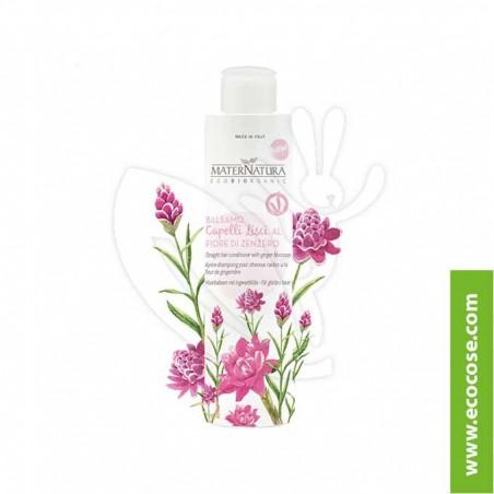 Maternatura - Balsamo Capelli Lisci ai fiori di Zenzero