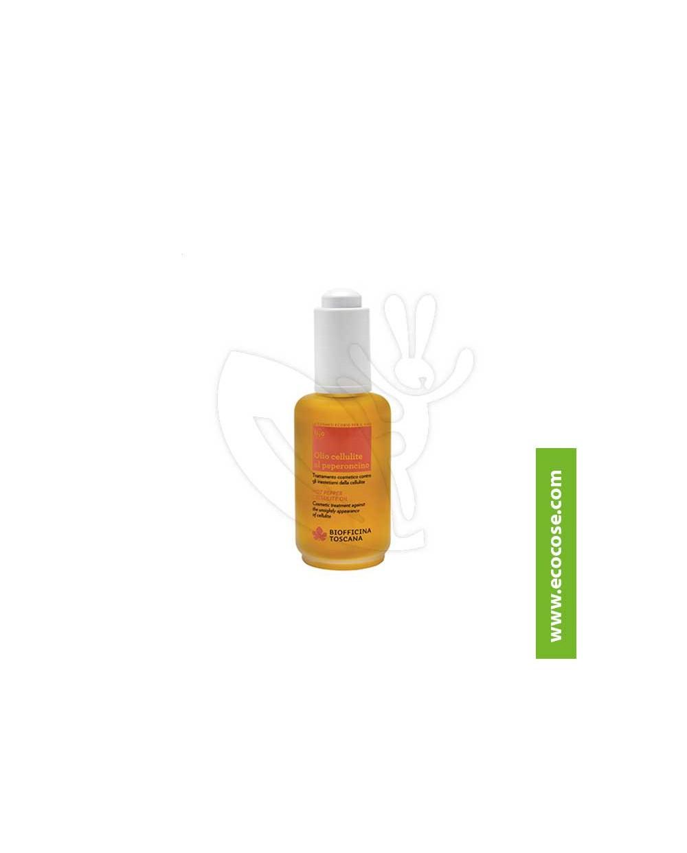 Biofficina Toscana - Olio cellulite al peperoncino