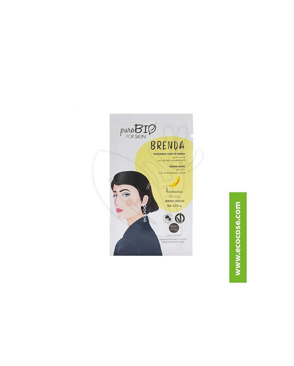 PuroBIO for skin - BRENDA - Maschera viso in crema - 01 Mandorla