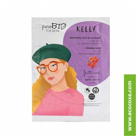 PuroBIO for skin - KELLY - Maschera viso in alginato - 08 Fico