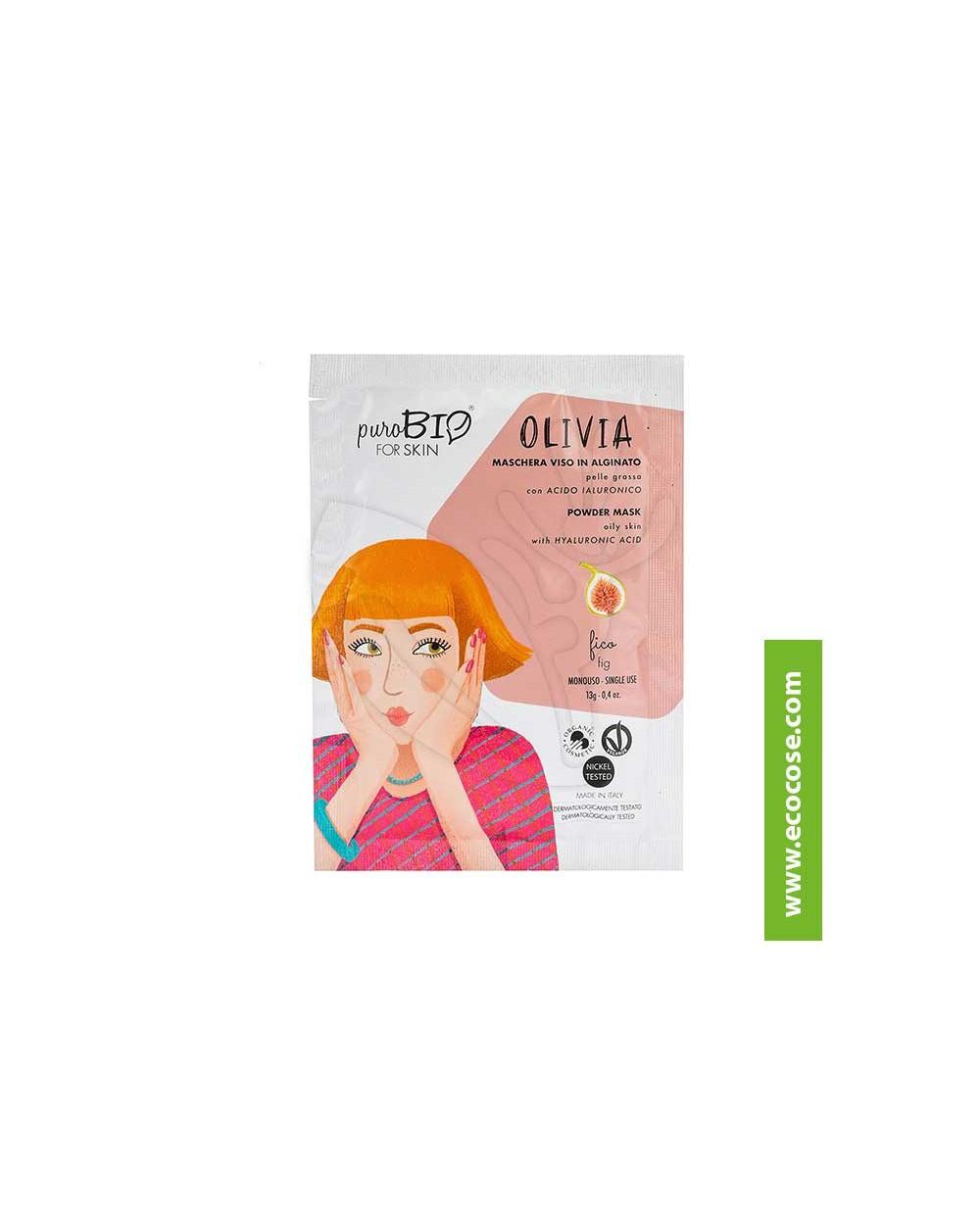 PuroBIO for skin - OLIVIA - Maschera viso in alginato - 11 Fico