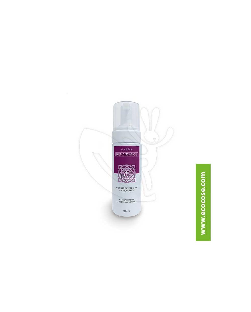 Gyada Cosmetics - Mousse detergente e struccante