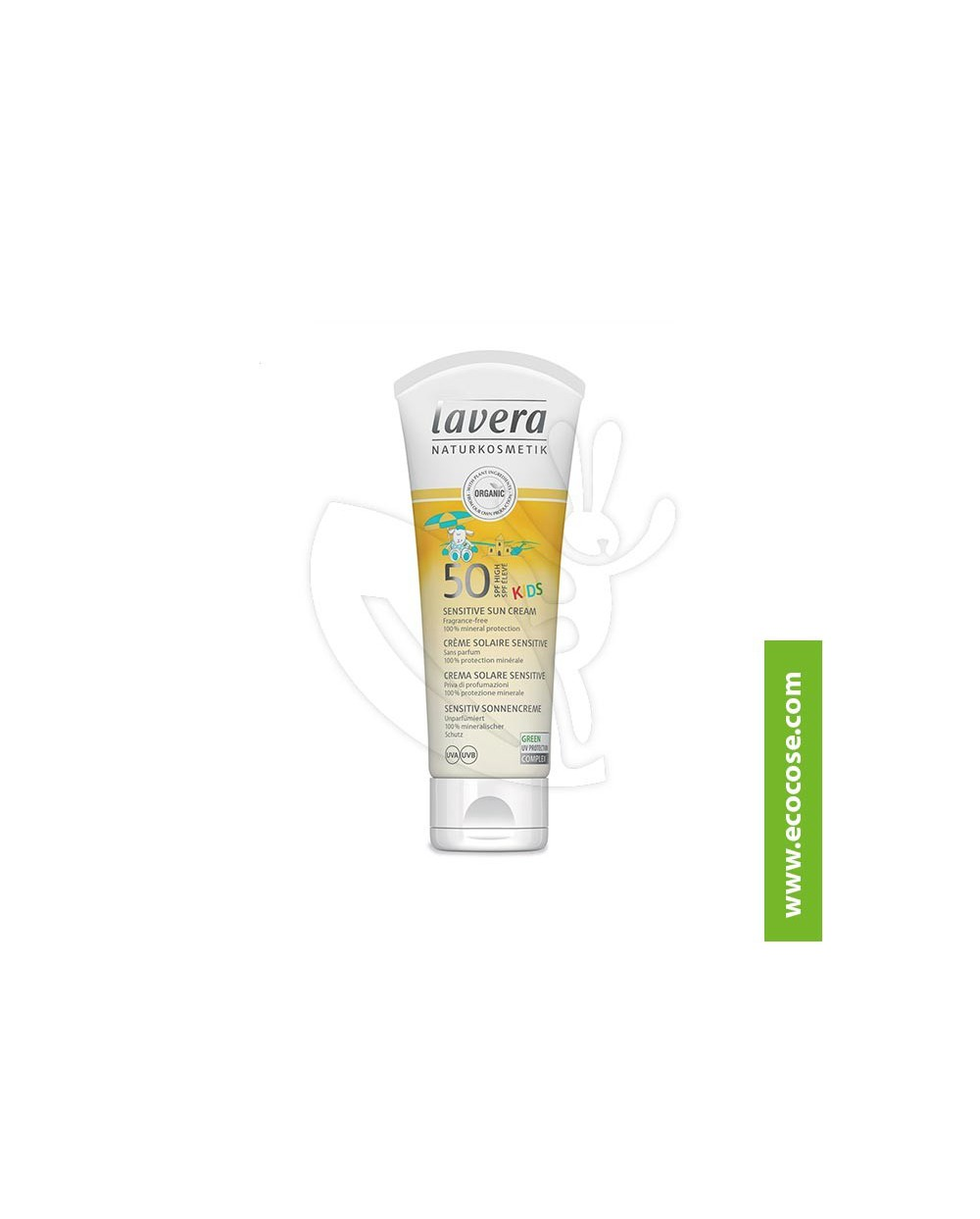 Lavera Sun - Crema solare sensitive spf50 KIDS