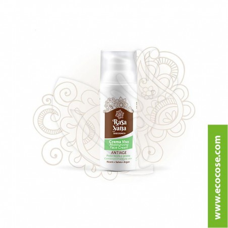 Rasayana BioCosmesi - Crema viso ANTIAGE Pelle mista e grassa