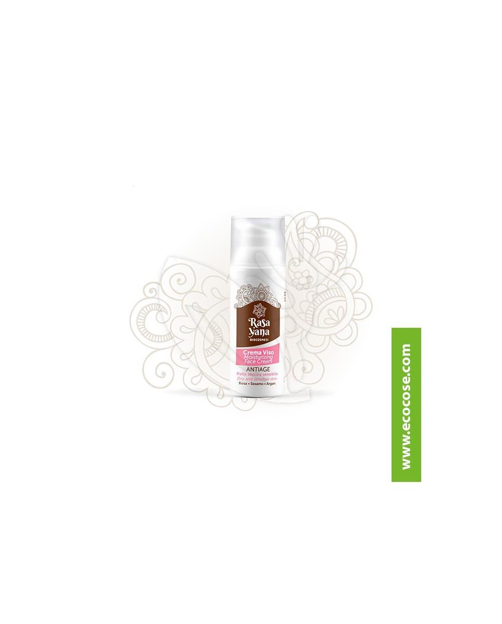 Rasayana Biocosmesi - Crema viso ANTIAGE Pelle secca e sensibile