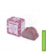 Lamazuna - Detergente viso solido all'Ibisco - Pelle secca e sensibile