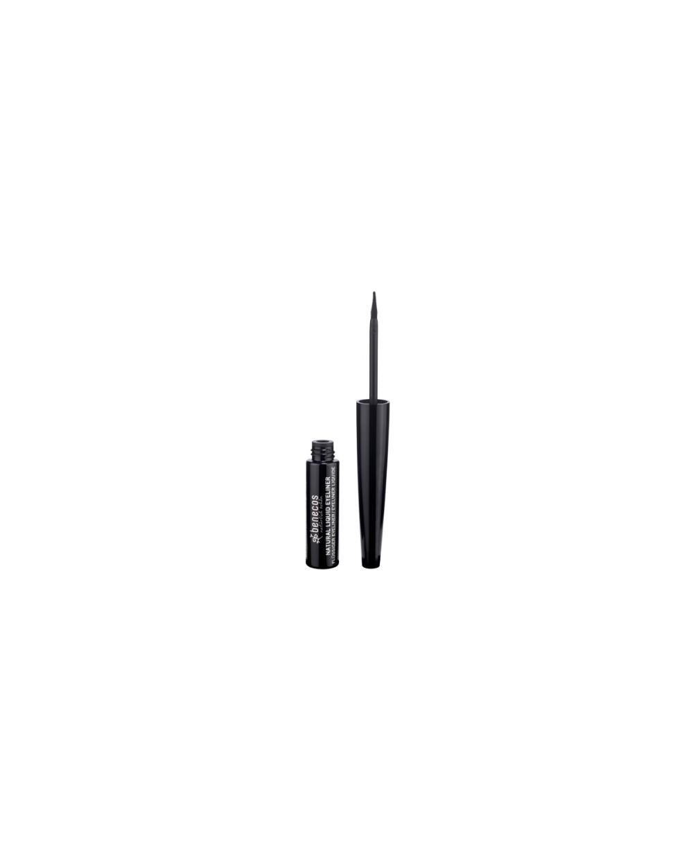 Benecos Eyeliner Liquido Naturale - Black