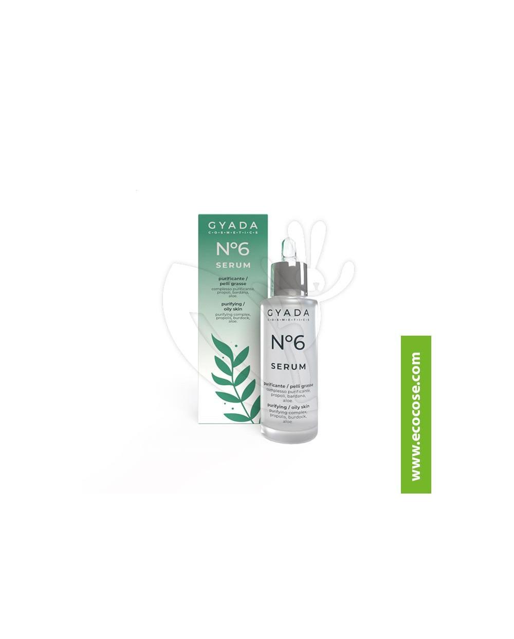 Gyada Cosmetics - Siero Viso N. 6 Purificante pelli grasse