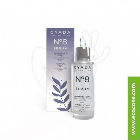Gyada Cosmetics - Siero Viso N. 8 Opacizzante zona T