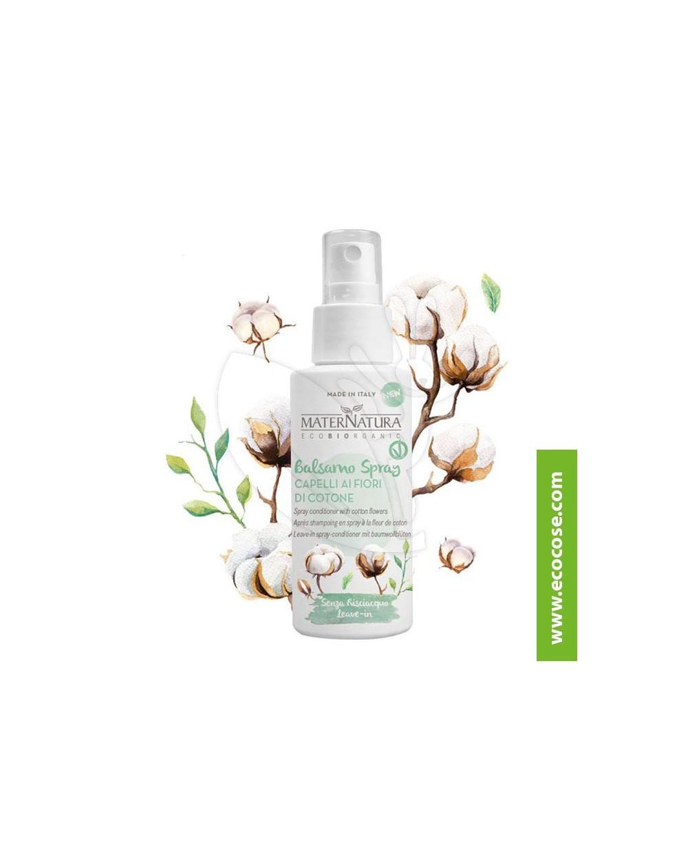 Maternatura - Balsamo Spray Capelli ai Fiori di Cotone
