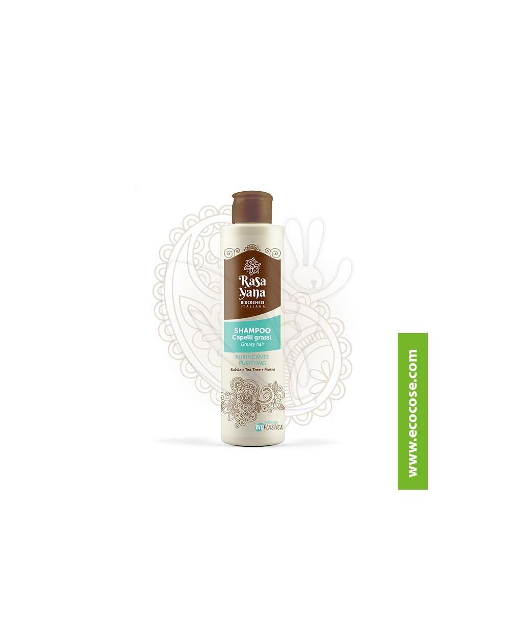 Rasayana BioCosmesi - Shampoo Purificante Capelli grassi *NEW*