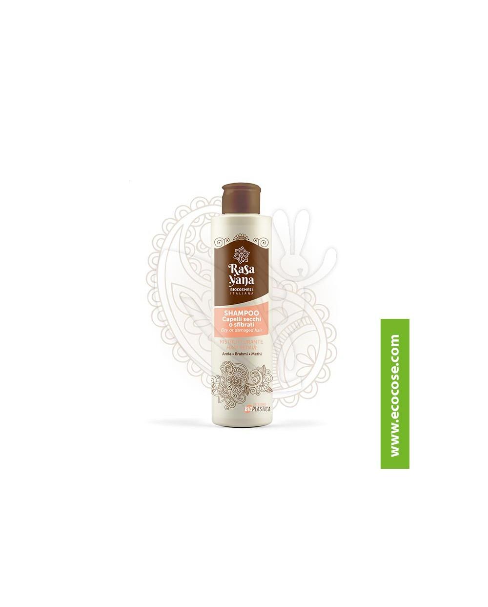 Rasayana BioCosmesi - Shampoo Ristrutturante Capelli secchi o sfibrati *NEW*