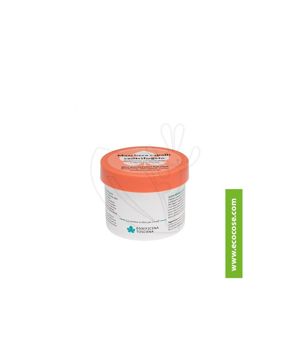 Biofficina Toscana - Maschera capelli centrifugato