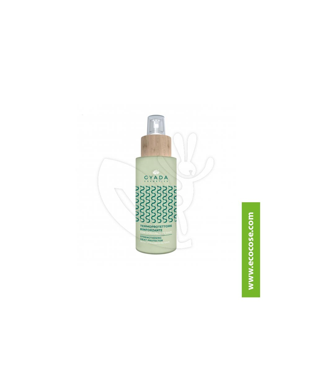 Gyada Cosmetics - Termoprotettore rinforzante con spirulina e AQ-Save