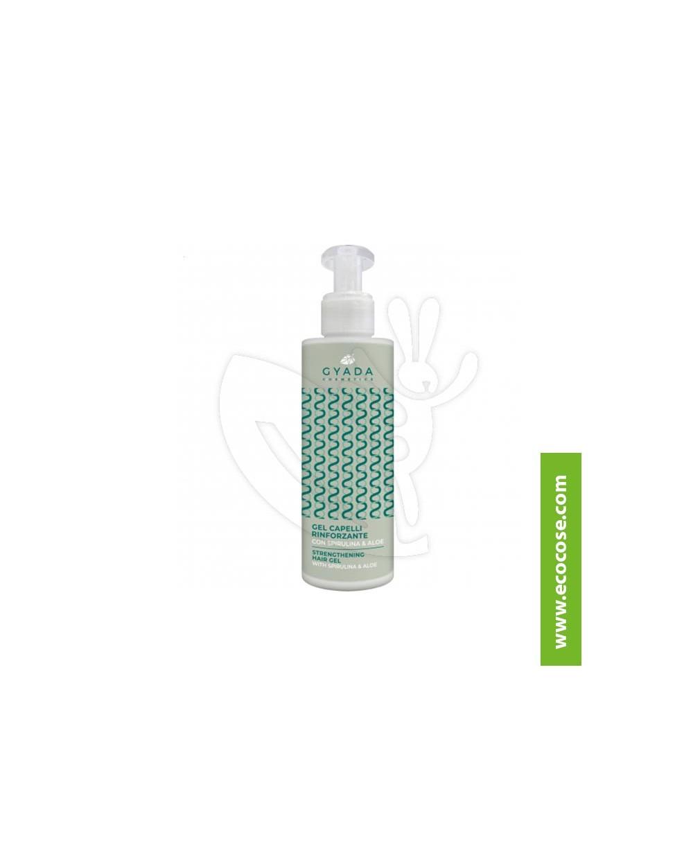 Gyada Cosmetics - Gel capelli rinforzante con spirulina e aloe