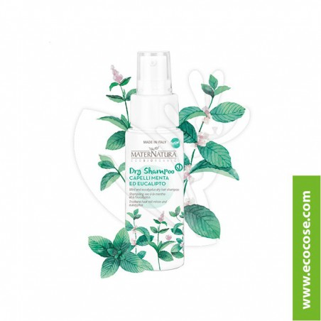 Maternatura - Dry Shampoo capelli menta ed eucalipto
