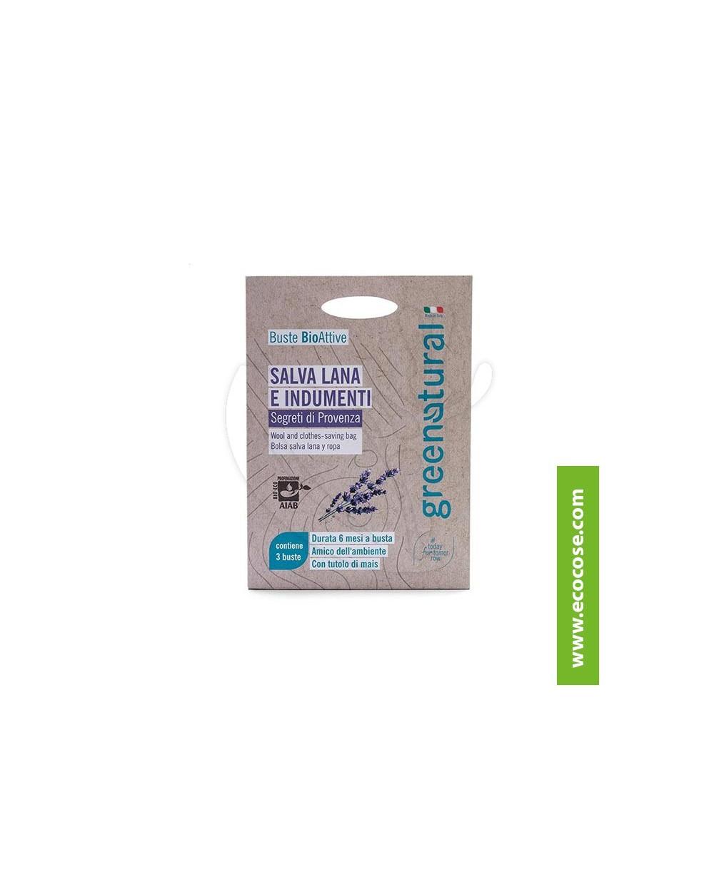 Greenatural - Buste Bioattive Salva Lana e indumenti - Segreti di Provenza
