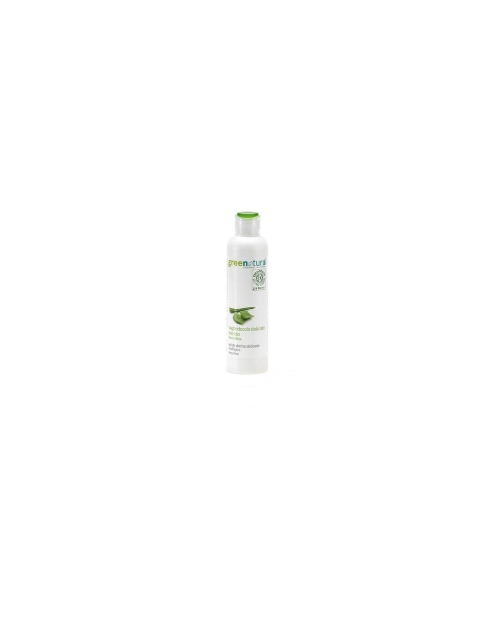 Greenatural - Bagnodoccia extra delicato Aloe & Olivo