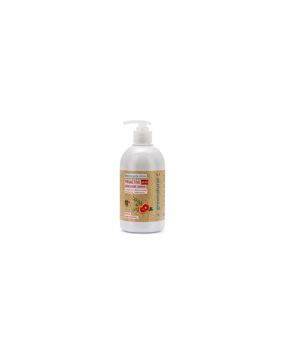 Greenatural - Bio Detergente intimo PROACTIVE pH.4.0