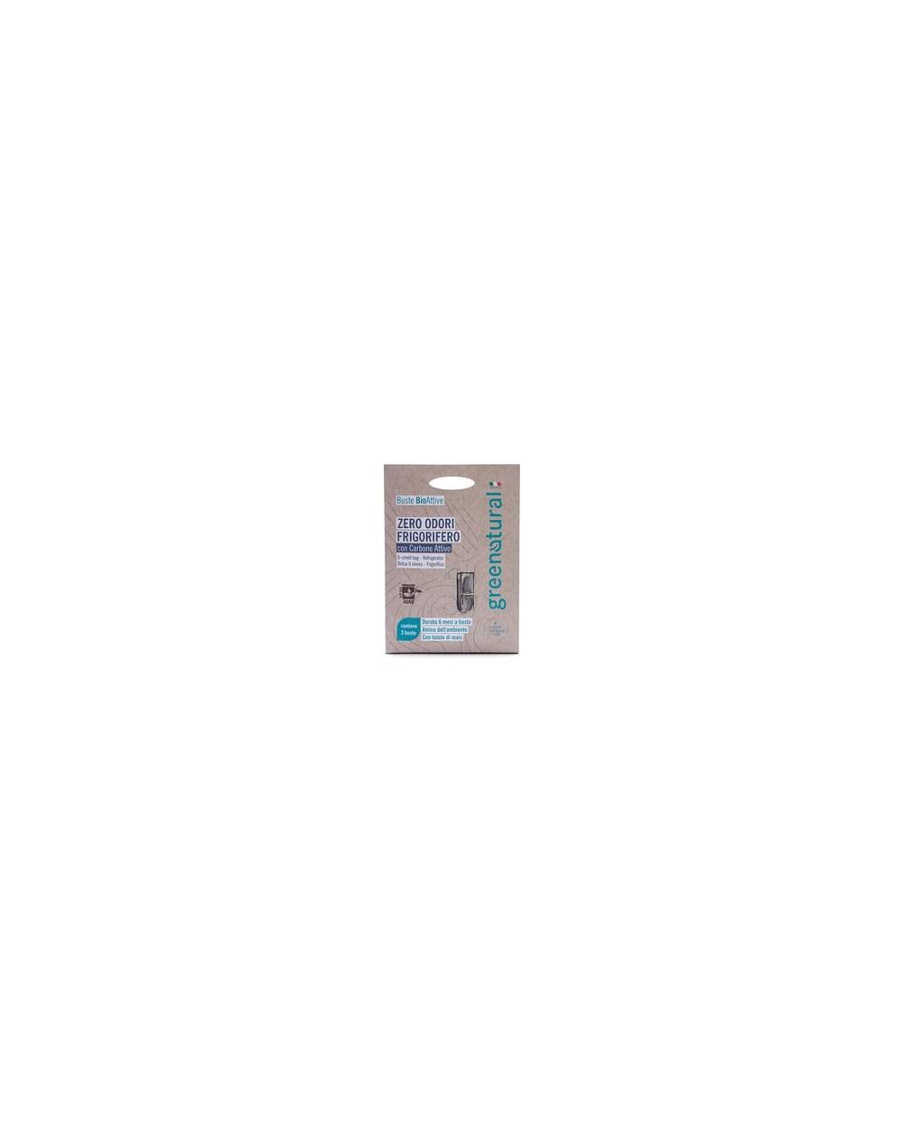 Greenatural - Buste bioattive zero odori frigorifero