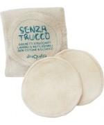 La Saponaria - Set 3 dischetti struccanti fair trade in cotone bio