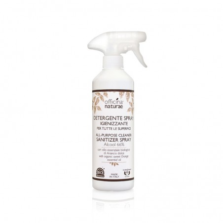Officina Naturae - Detergente Spray igienizzante per tutte le superfici 500ml