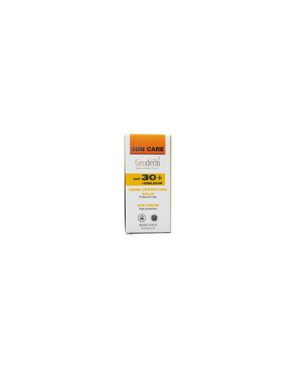 Geoderm - Crema solare SPF 30 colore50ML